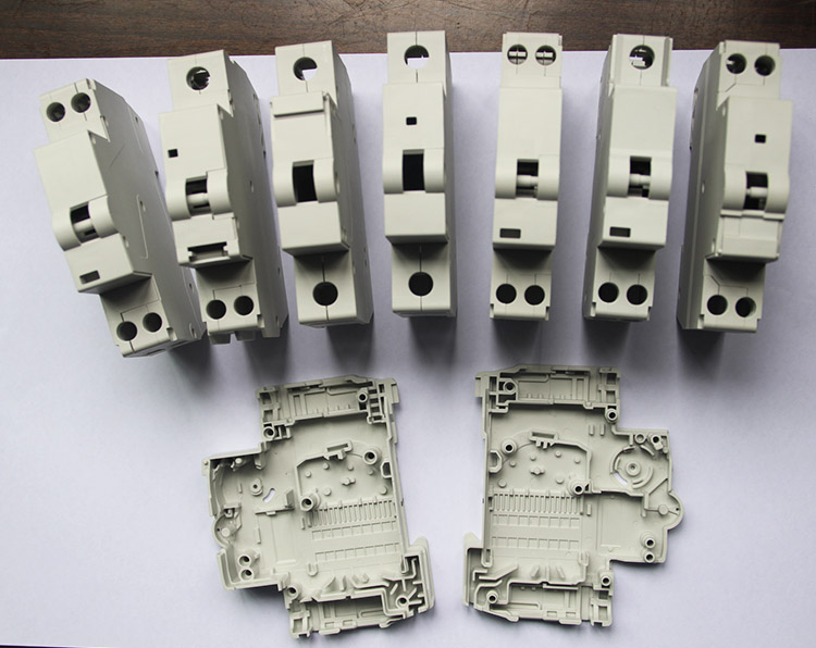C45 circuit breaker plastic shell mould