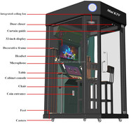 Popular Playground Self-service Mini KTV with Portable Karaoke System