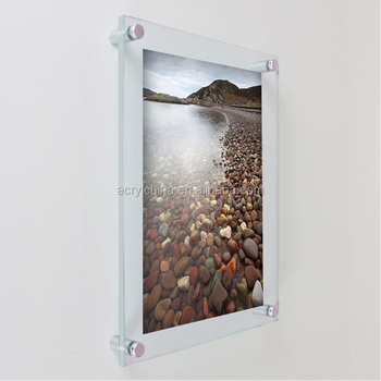 Custom Handmade Funia Photo Frame,Clear Wall Mounted Acrylic Photo ...