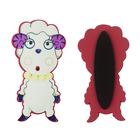 Custom Animal Silicone Fridge Magnet Cute soft toy pvc custom cartoon fridge magnets