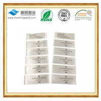 Printed Technics cheap custom clothing size labels/washing instructions care labels/composition labels