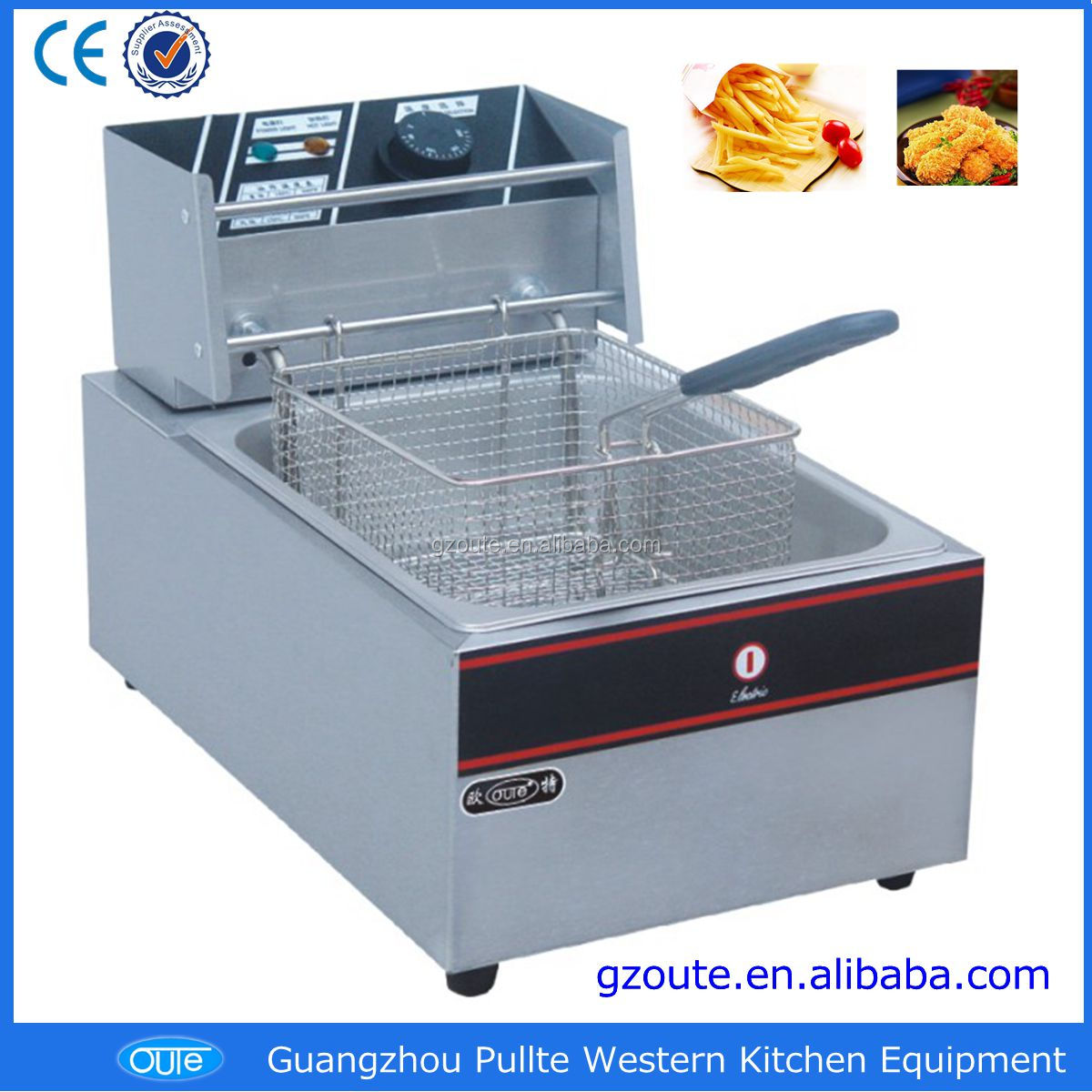 china supplier popular electric portable deep fryers automatic