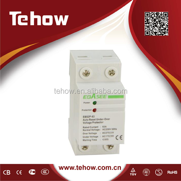 types of automatic under and over voltage protector refrigerator voltage protector