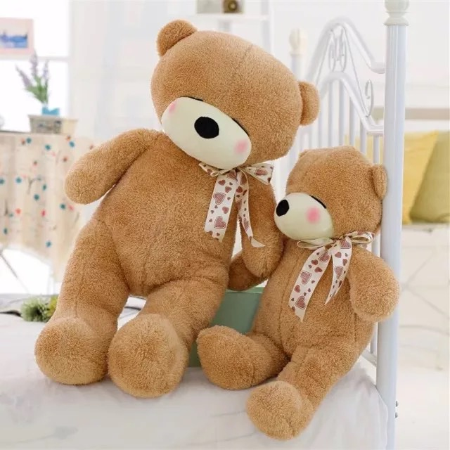 Factory customized 40-100CM All Size Bear Giant Teddy Bear Plush Toys Stuffed Teddy Bear