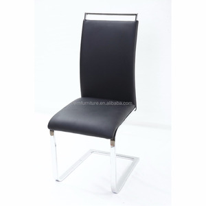 italian wooden armless leather office swivel parts dining chair