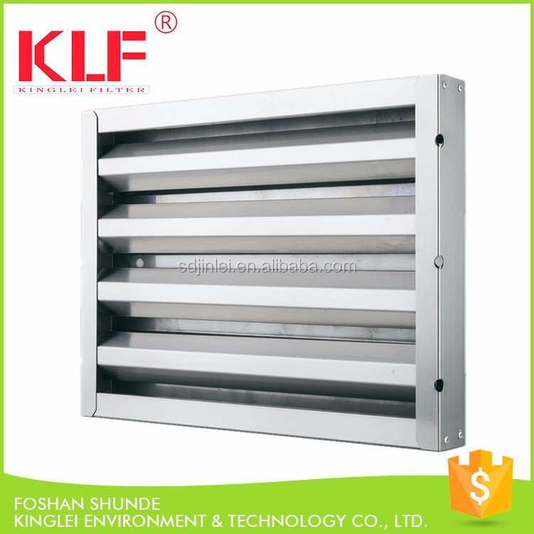 Defense stainless steel commercial kitchen hood grease for Commercial kitchen grease filters