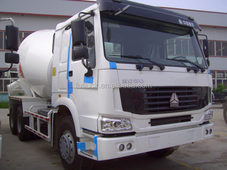 Top brand Sinotruk 6*4 meters Concrete Mixer Trucks for sale