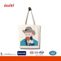 2016 Fashion Printing Promotional Canvas Cotton Bag For Shopping
