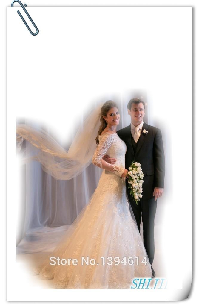 Cheap Off Shoulder Long Sleeve Wedding Dresses, find Off Shoulder ...
