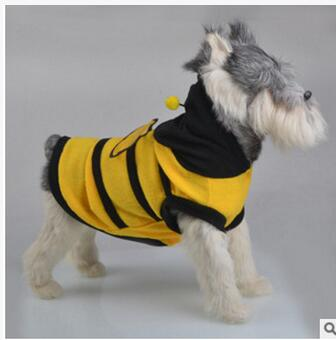 49436cac91ca Godbead Bee Dog Cat Cute Fleece Halloween Costume Lovely Wing ...