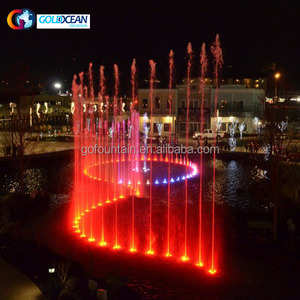 Sea Floating Music Fountain Water Display Stainless Steel 316