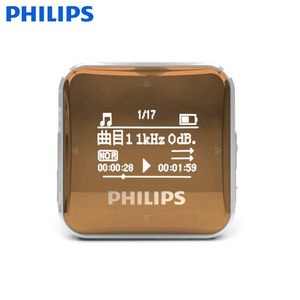 Philips Mp3 Industrial Digital Flac Music Player with Wma Format