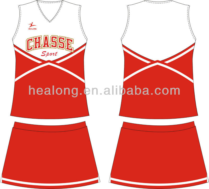 Healong Custom Made Any Color Matching Cheerleading Uniforms