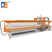 DZ Program controlled automatic hydraulic chamber filter press machine