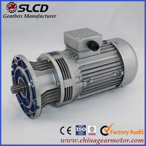 shuanglian WB series micro cycloidal reducer for floor wiper blade strips extruder