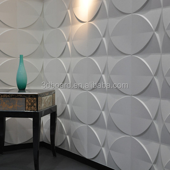 Soft Background Art 3D Leather Wall Panels Tiles Texture