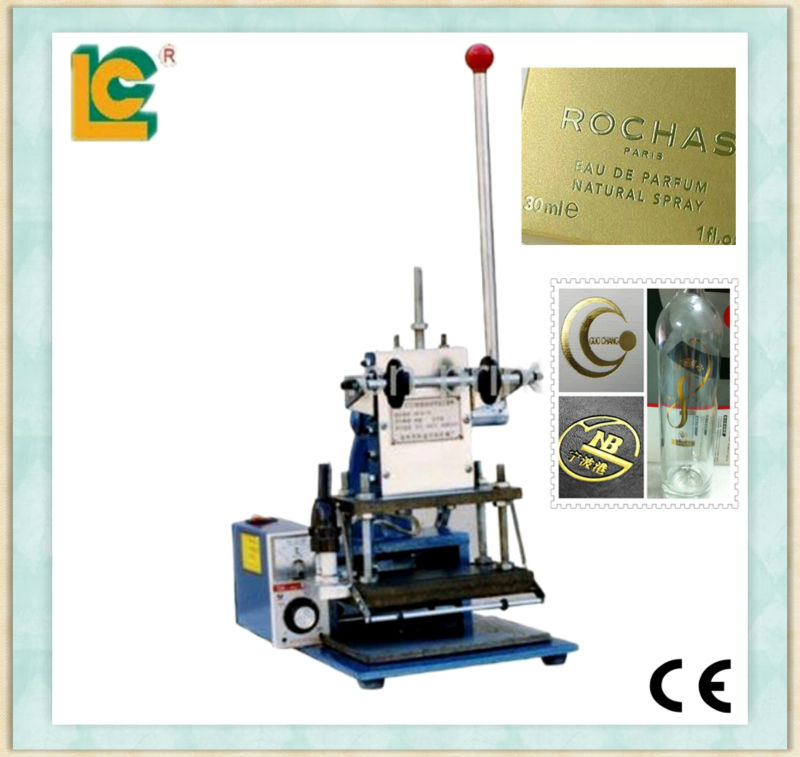 Manual name card,trademark hot stamping machine TH-180