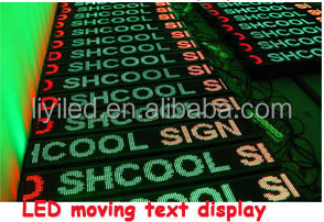 Outdoor Programmable Scrolling Led Sign/led Marquee Signs/led