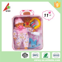 Fashion kids lovely japanese baby doll with six sound
