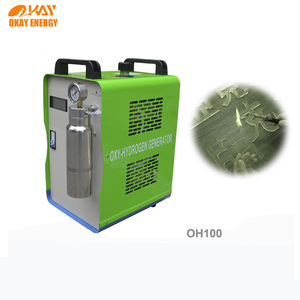 green energy water fuel cell oxyhydrogen flame generator