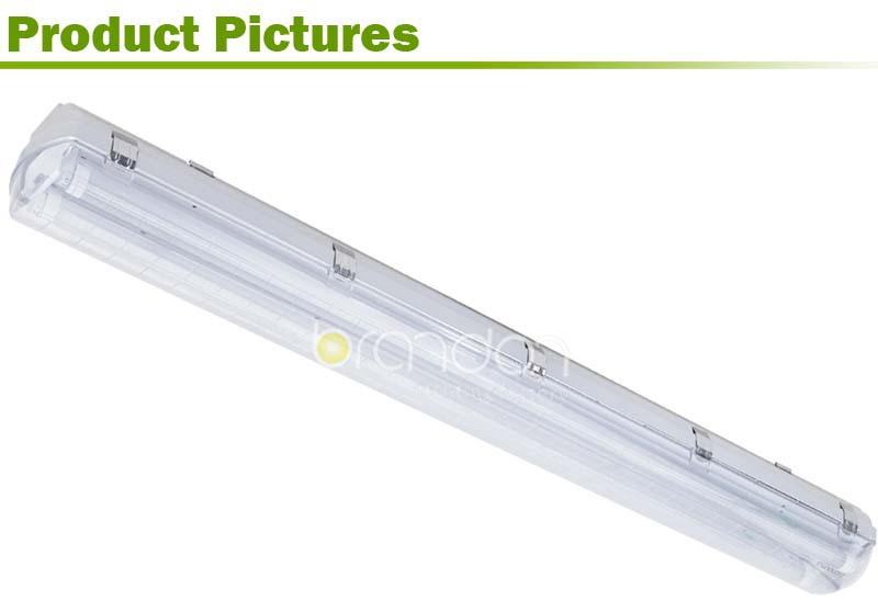 Ip65 Waterproof T5 T8 Led Fluorescent Light Fixture Parts 2x36w ...