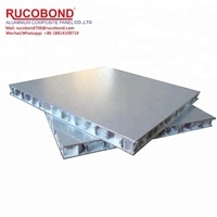 Aluminum honeycomb panel for toilet
