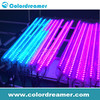 DMX512 control double sided 3d effect led falling snow light /dmx led rgb vertical tube