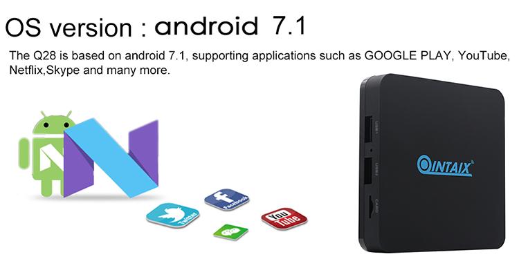 2017 New Google Nexus Tv Box Android Tv Box Q28 4k 1080i/p Bt Subscription  Arabic French Iptv - Buy Google Nexus Tv Box,Tv Box Quad-core,Android Tv