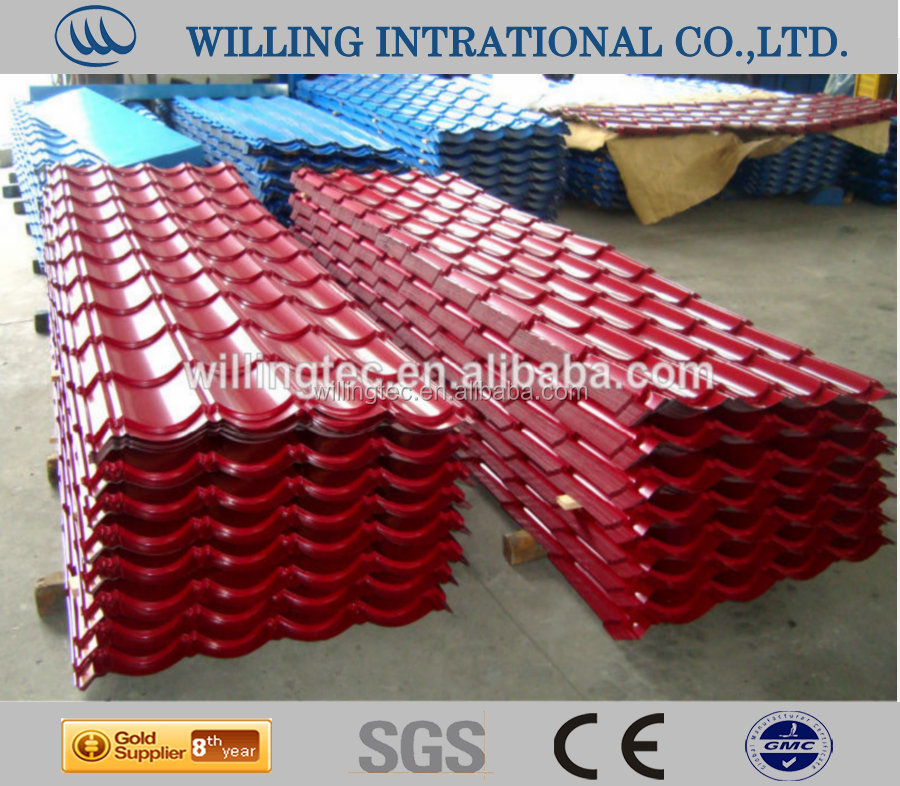 teel profile cold roll forming machines for manufacturing ceramic tiles
