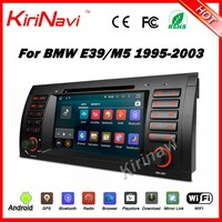 Kirinavi WC-BW7018 Android 5.1 1024x600HD dvd player for bmw e39 1995 -2003 gps car stereo navigation wifi 3g playstore SW