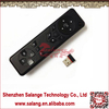 2.4G wireless infrared remote control air fly mouse for smart tv Android TV Box player USB