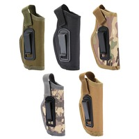Nylon CS Field Invisible Tactical Small Holster Tactical Compact/Subcompact Pistol Holster Waist Case Hunting Accessory
