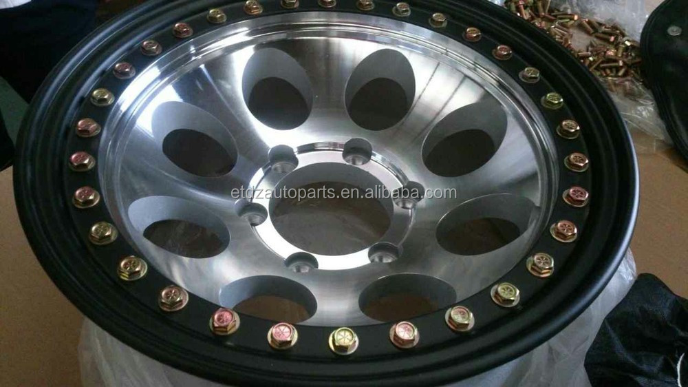 15x8 5x4.5 5x114.3 Polished Aluminum Alloy Wheels Rims For ...