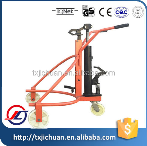 Factory 3 wheels hot sale 300kg hand drum truck