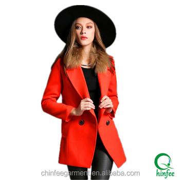 Woman Wool Coats Korea Winter Coats - Buy Korea Winter Coats ...