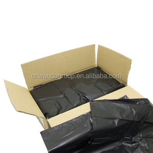 BLACK HEAVY DUTY REFUSE BAGS SACKS BIN LINERS, RUBBISH BAG UK 160G QUALITY