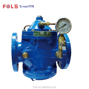 Water hammer reducing flexible installation filter type hydraulic pump  control valve