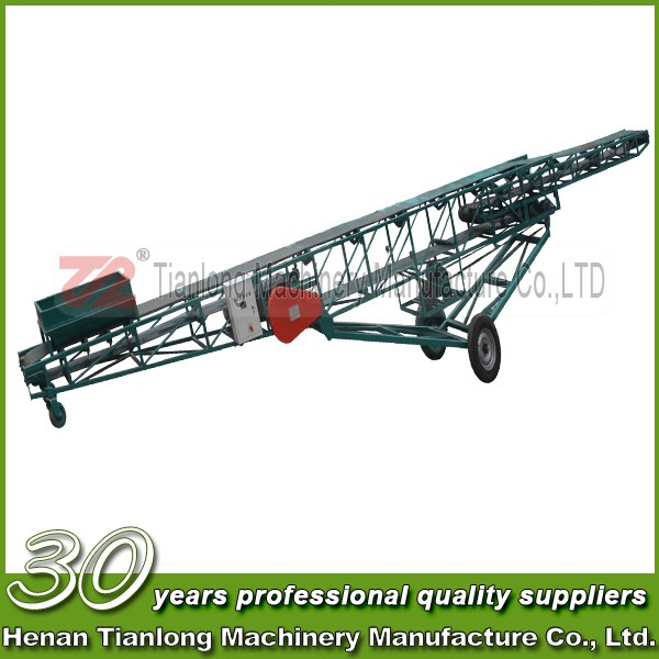 Mining Loose Material Conveying Mobile Belt Conveyor System