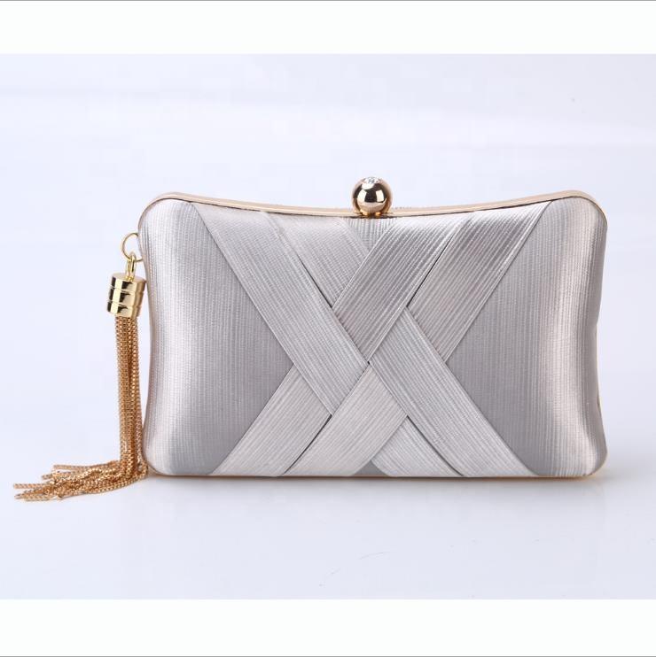 1e2e33e4ef Personalized Fashion Silk  strong Satin  strong  Evening Clutch Handbag ...