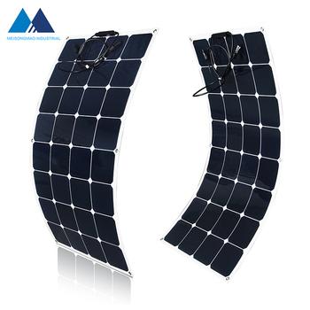 Custom Size Highest Efficiency Flexible Bendable Solar