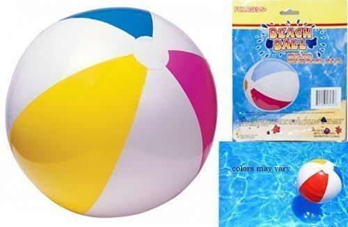 "Blue Green Novelty 1 BEACH BALL 20"" Inflatable Beach , Pool Party Adult Kids Games Summer Fun"
