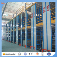 Most popular cold roller steel mezzanine rack system for mechanical manufacturing industry