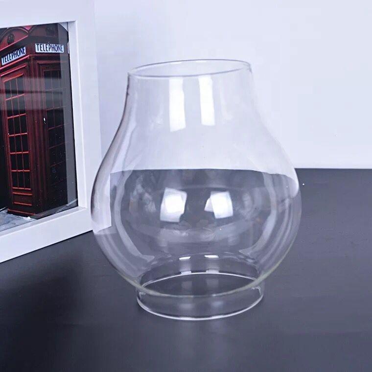 """8-1//2/"""" HI CLEAR GLASS CHIMNEYS HURRICANE LAMP GLOBE SHADES KEROSENE OIL LIGHTING"""