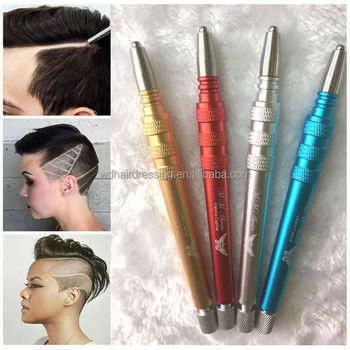 Haar tattoo graveren pen scheren en ontwerp rvs pen for Razor pen for hair tattoo