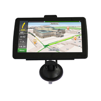 Most popular 7 inch touch screen car gps navigation with europe maps bluetooth and multimedia players