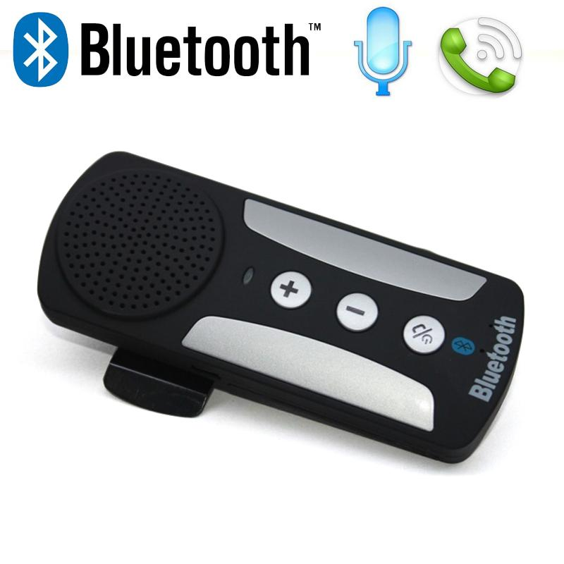 MultiPoint Wireless <strong>Bluetooth</strong> In-<strong>car</strong> Handsfree <strong>Car</strong> Kit Speakerphone Speaker <strong>For</strong> ne with <strong>Visor</strong> Clip &amp; <strong>Car</strong> Charger free DHL