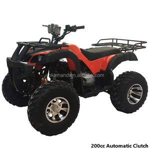 4 Wheel 200cc Automatic Clutch Gasoline Utility Quad Bike