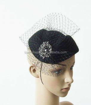 Autumn Winter wool felt fascinator hat fascinator felt hat gergeous for  Derby Races Church Wedding party 3ebca7edafc