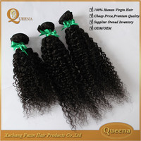 Wholesale price 7a full cuticle unpprocessd virgin indian remy wavy red hair