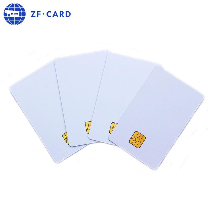 Cartão de chip Guangzhou pvc sim cartão tamanho 4442